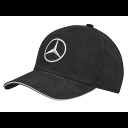 Lippalakki Musta Mercedes Tähti