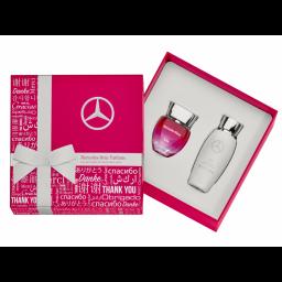 M-B Naisten Parfyym / vartalovoide lahjapakkaus