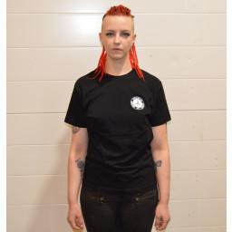 T-paita musta Klubin logo